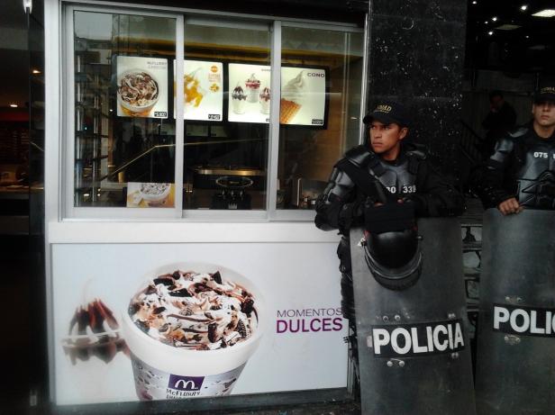 Första maj i Bogota