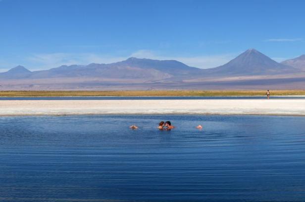 Latinamerikaliv: Laguna Cejar Atacama Chile