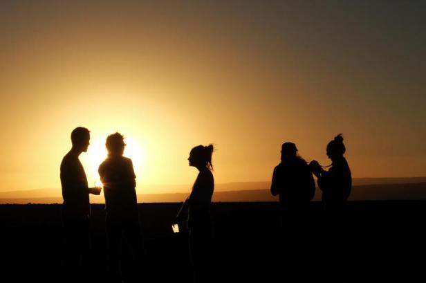 Latinamerikaliv: Atacama Salt flats Atacama desert Chile