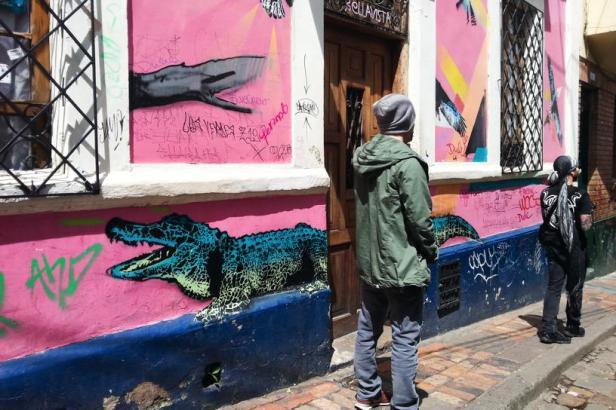 Bogotá Street art - By Latinamerikaliv