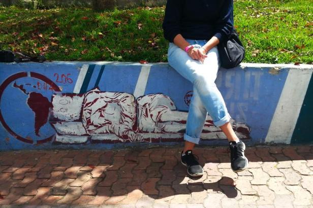 Bogotá street art - Homelessness - Latinamerikaliv