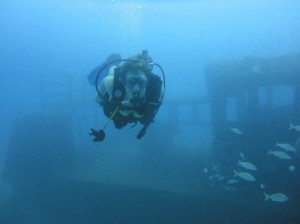 Wreck diving Cartagena Colombia Latinamerikaliv