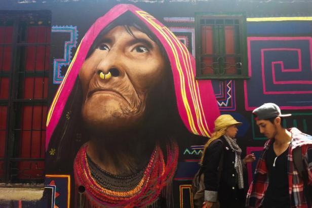 Guache - Bogotá Graffiti - Latinamerikaliv