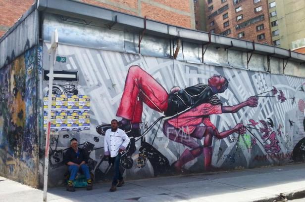 Guache and others - Bogotá street art - By Latinamerikaliv