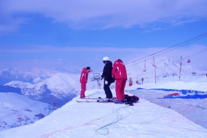 Les deux alpes France Paragliding Latinamerikaliv