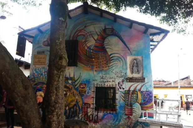 Rodez - Bogotá Street art - Latinamerikaliv