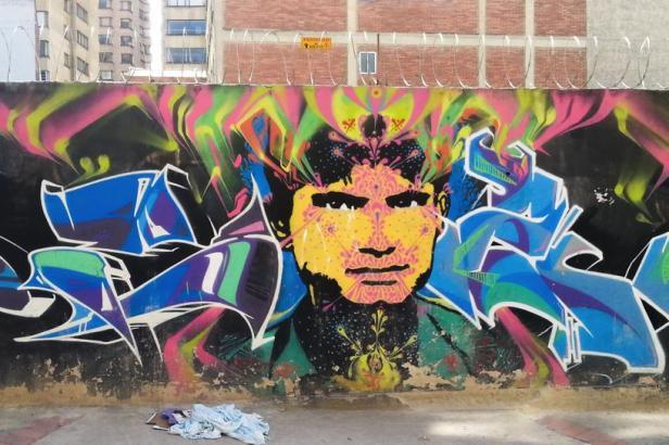 Stinkfish - Bogotá Street art - Latinamerikaliv
