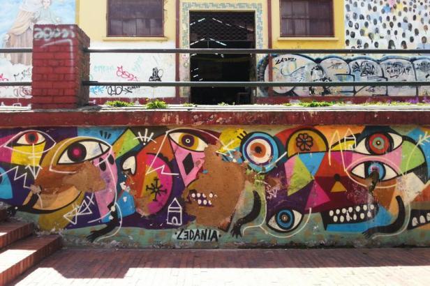 Zedania - Bogotá street art - Latinamerikaliv