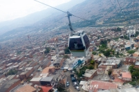 Medellín was the first city in the world to use gondola for urban public transport