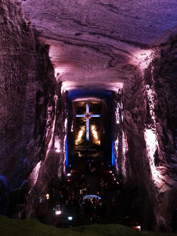 Zipaquirá Salt Cathedral - Latinamerikaliv 2
